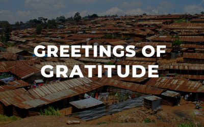 Greetings of Gratitude